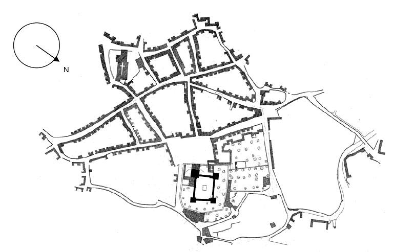 castle diagram with labels